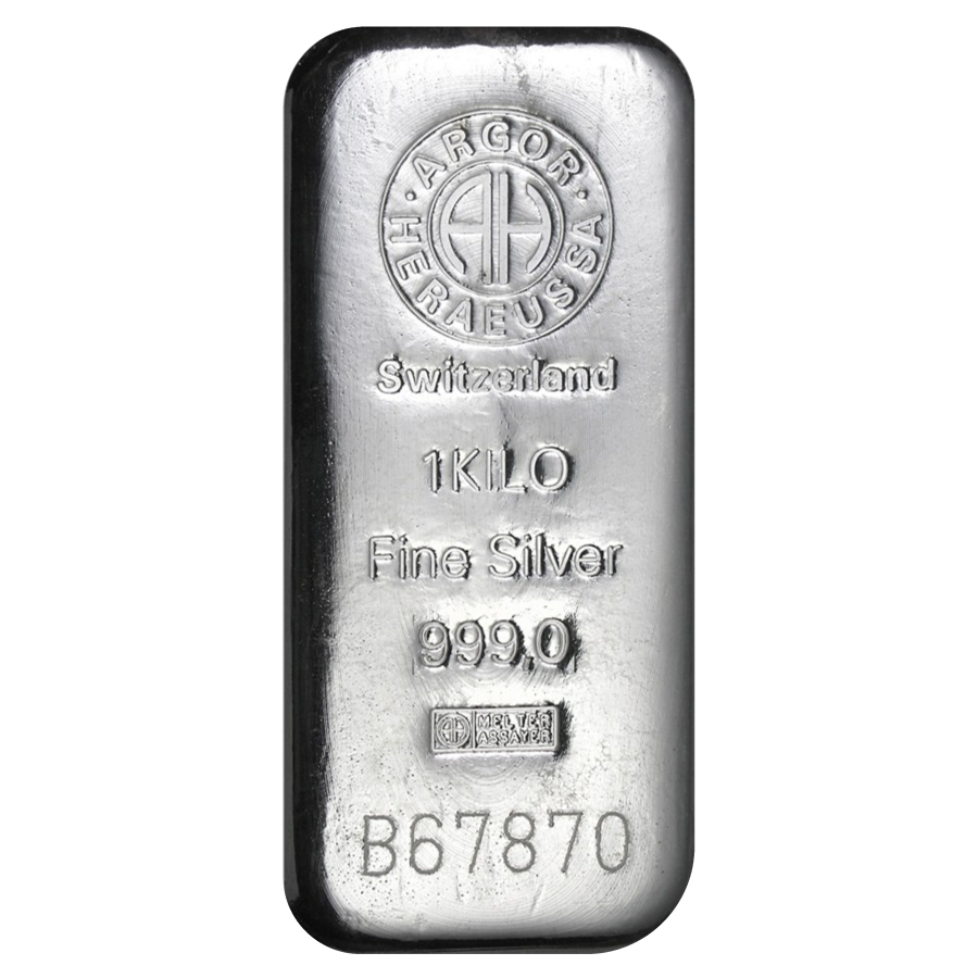 1-kilo-(32.15oz)-of-.999-fine-silver-by-Argor-Heraeus
